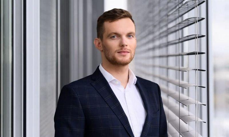 """Lukas Radžiūnas, """"Vilniaus prekybos"""" komunikacijos vadovas.  Įmonės nuotr."""