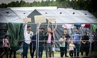 Atmesta per pusė tūkstančio migrantų prieglobsčio prašymų, išvyko virš šimtoasmenų
