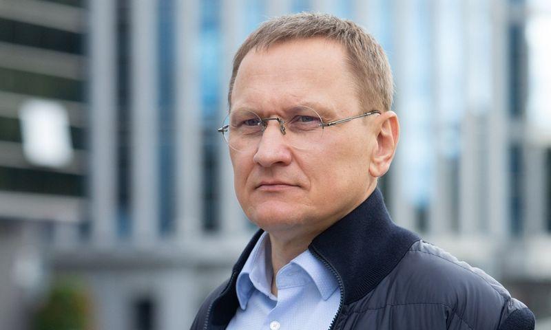 Mindaugas Marcinkevičius, verslininkas, smulkusis VP grupės akcininkas. Juditos Grigelytės (VŽ) nuotr.