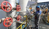 """Rusija: dujų eksportas """"Nord Stream 2"""" vamzdynu spalio 1-ąją neprasidės"""