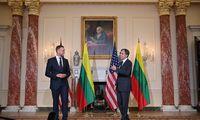 G. Landsbergis sako su A. Blinkenu aptaręs priemones Kinijos spaudimuiatremti