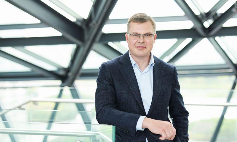 """""""Swedbank"""" Lietuvoje Komunikacijos ir tvarumo tarnybos vadovas Kęstutis Vanagas pradeda eiti Baltijos bankininkystės Komunikacijos koordinatoriaus pareigas. Bendrovės nuotr."""