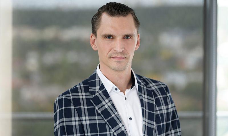 """Mantvydas Štareika, """"SME Bank"""" vadovas. Bendrovės nuotr."""