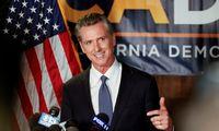 Kalifornija neatšaukė gubernatoriaus