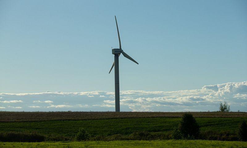 Vėjo jėgainė. Juditos Grigelytės (VŽ) nuotr.