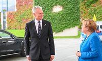 G. Nausėda su A. Merkel aptarė migracijos, saugumo klausimus