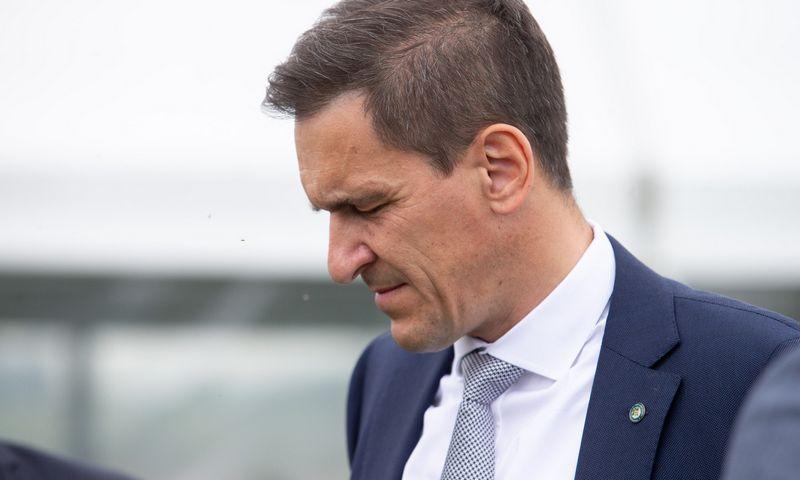 Dainius Kreivys, energetikos ministras. Juditos Grigelytės (VŽ) nuotr.