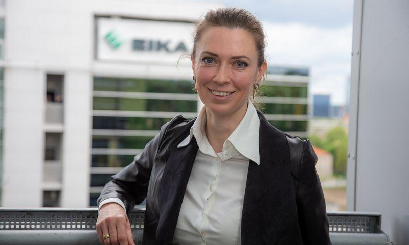 """Viktorija Orkinė, """"Eika Asset Management"""" generalinė direktorė. Vladimiro Ivanovo (VŽ) nuotr."""