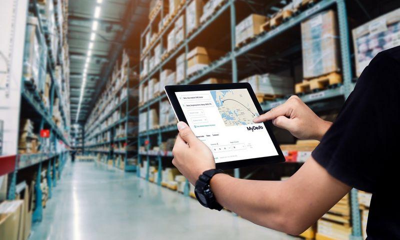 """Startuolis""""MyDello"""" siekia skaitmenizuoti ir automatizuoti tradicinės logistikos sektorių."""