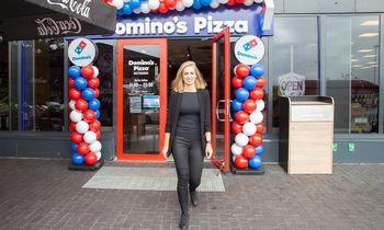 """Picerijų milžinės """"Domino's Pizza"""" planas – lyderės sostas Lietuvoje"""