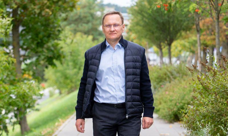 """Mindaugas Marcinkevičius, smulkusis VP grupės akcininkas: """"Vadinti tai laisvanorišku pasitraukimu niekaip neišeina."""" Juditos Grigelytės (VŽ) nuotr."""