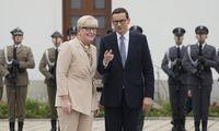 Lenkijos premjeras: Baltarusijoje yra per 10.000 migrantų