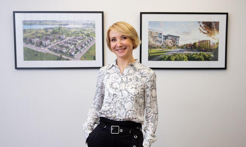"""Dalia Andrulionienė, """"Omberg"""" vykdomoji direktorė. Juditos Grigelytės (VŽ) nuotr."""