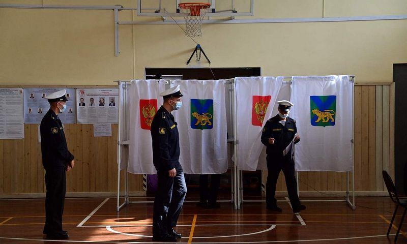 """Rinkimai Rusijoje Pavelo Koroliovo (AFP/""""Scanpix"""") nuotr."""