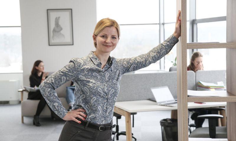 """Dr. Alisa Miniotaitė, UAB """"Alisa Management Laboratory"""" vadovė. Vladimiro Ivanovo (VŽ) nuotr."""
