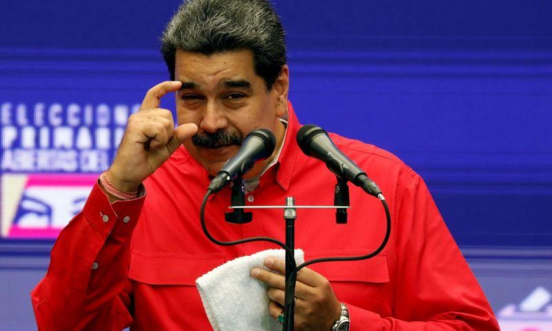 """Nicolas Maduro. Leonardo Fernandezo (""""Reuters""""/""""Scanpix"""") nuotr."""