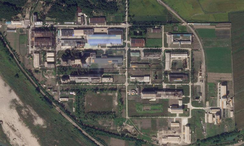"Jongbjono branduolinis kompleksas. AP/""Scanpix"" nuotr."