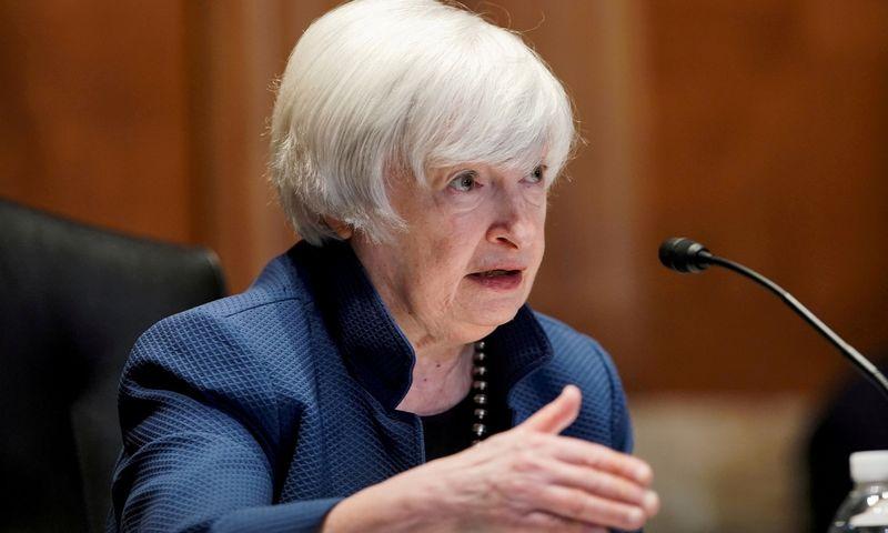 "Janet Yellen, JAV iždo sekretorė.  Greg Nash (""Reuters"" / ""Scanpix"") nuotr."