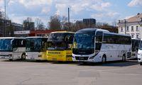 LTSA svarstymui pateikė tarpmiestinių autobusų vežėjų konkurso projektą
