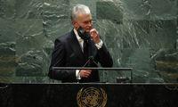 G. Nausėda ragina Jungtines Tautas padėti spręsti migracijos krizę Lietuvoje