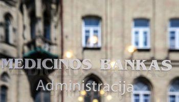 Medicinos bankui – įspėjimas ir 300.000 Eur bauda