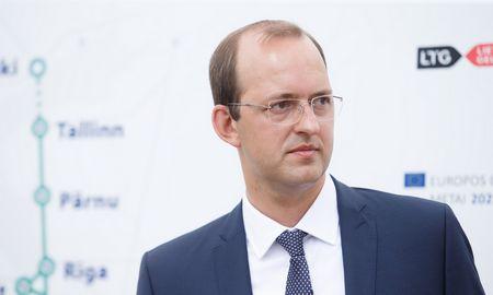 """M. Skuodis tikisi susitarti su ES dėl """"Rail Baltica"""" finansavimo"""