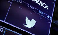 """""""Twitter"""" sumokės 809 mln. USD, kad būtų atšauktas ieškinys dėl investuotojų klaidinimo"""