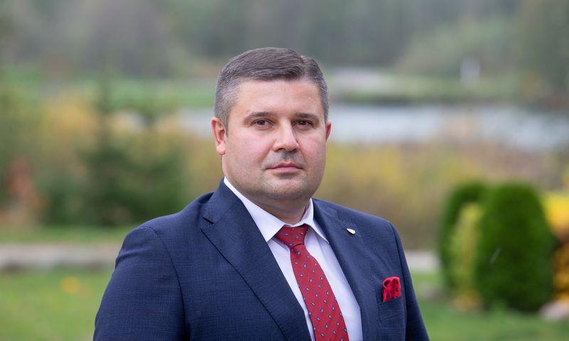 """Ramūnas Miliauskas, AB """"Achema"""" generalinis direktorius. Juditos Grigelytės (VŽ) nuotr."""
