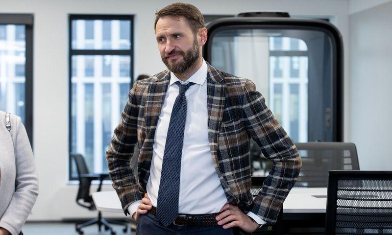 "Elijus Čivilis, ""Investuok Lietuvoje"" vadovas. Juditos Grigelytės (VŽ) nuotr."
