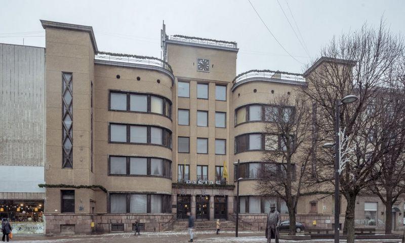 Kauno centrinis paštas. L. Mykolaičio / Kultūros ministerijos nuotr.