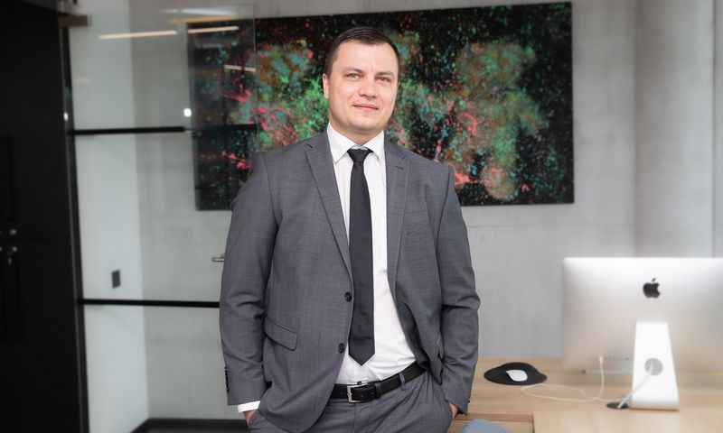 """Mantas Galdikas, UAB """"Citus"""" vadovas. Vladimiro Ivanovo (VŽ) nuotr."""