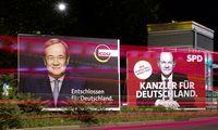 Vokietijos rinkėjų apklausa: krikdemai šiek tiek priartėjo prie socialdemokratų