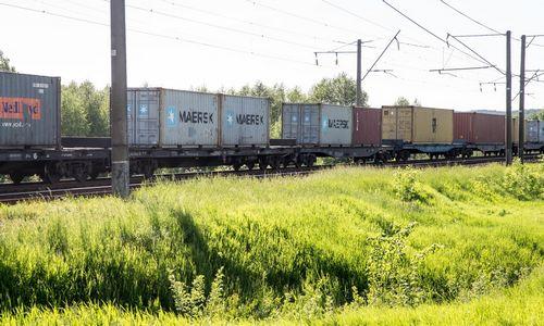 Rusijos geležinkeliams didinant tarifus,brangs Kinijos prekių atvežimas