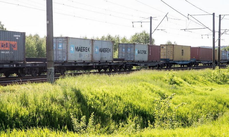 Padidinti Rusijos geležinkelių tarifai didins prekių gabenimo iš Kinijos kaštus. Juditos Grigelytės (VŽ) nuotr.