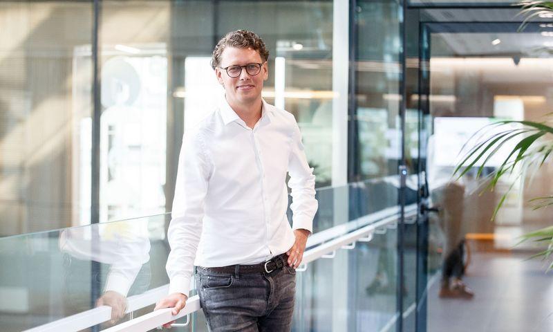 """Marius Ivanauskas, """"Telia Global Services Lithuania"""" vadovas. Juditos Grigelytės (VŽ) nuotr."""