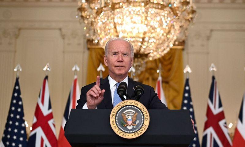 """Brendano Smialowskio (AFP / """"Scanpix"""") nuotr."""