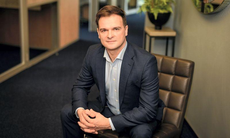 """Giedrius Keraitis, verslo valdymo paslaugų bendrovės """"Mažeika ir partneriai"""" partneris."""