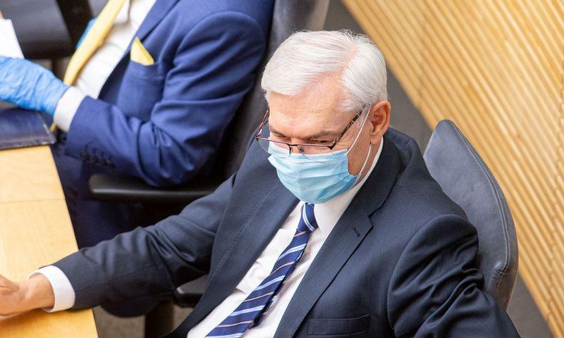Zigmantas Balčytis, Seimo  Audito komiteto pirmininkas.  Juditos Grigelytės (VŽ) nuotr.