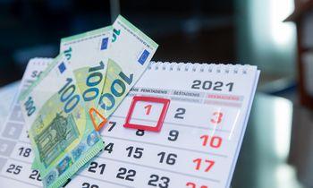 Patarimas: kiek pinigų turite būti susitaupę skirtingais gyvenimo etapais