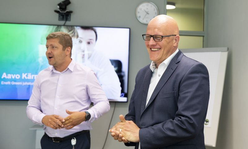 """Aavo Karmas, """"Enefit Green"""" CEO. Liis Treimann (""""Äripäev"""" / """"Scanpix Baltics"""") nuotr."""