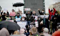 Maskvoje – protestas prieš parlamento rinkimų rezultatus