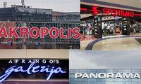 """Strateginiai partneriai išlaiko pozicijas centruose """"Panorama"""" ir """"Akropolis"""""""