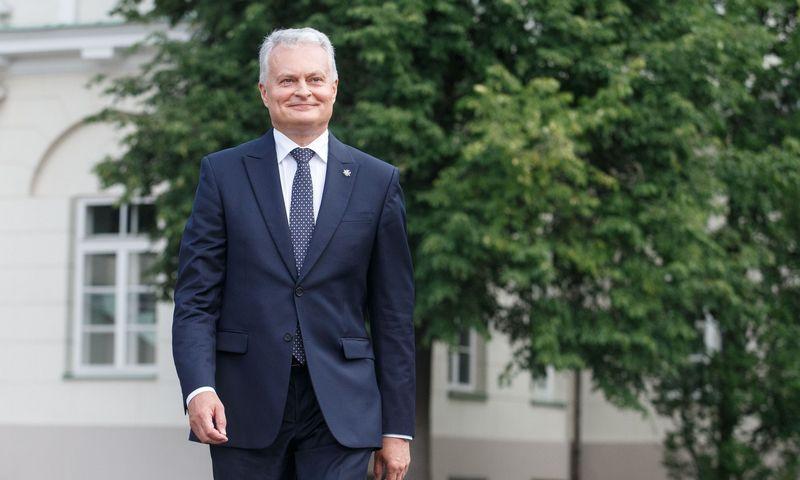 Gitanas Nausėda, Lietuvos Prezidentas. Juditos Grigelytės (VŽ) nuotr.