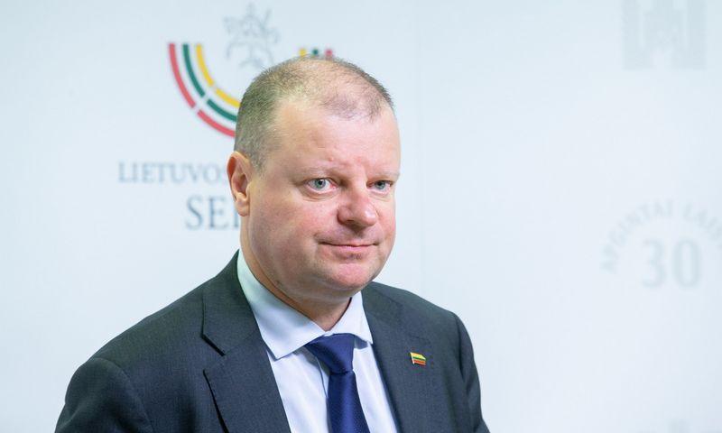 Saulius Skvernelis, Seimo narys. Juditos Grigelytės (VŽ) nuotr.