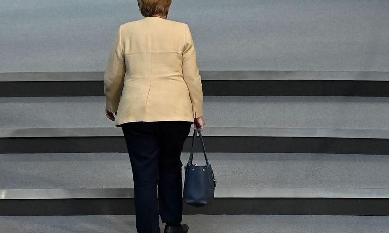 """Angela Merkel, Vokietijos kanclerė.  Johno Macdougal (AFP / """"Scanpix"""") nuotr."""