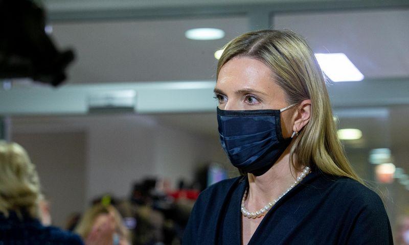 Agnė Bilotaitė, vidaus reikalų ministrė. Juditos Grigelytės (VŽ) nuotr.
