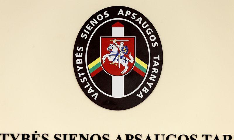 Valstybės sienos apsaugos tarnybos logotipas. Vladimiro Ivanovo (VŽ) nuotr.