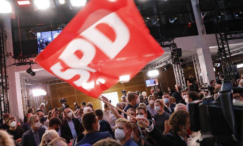 """Socialdemokratų būstinė Berlyne. Metodi Popowo (""""Imago""""/""""Scanpix"""") nuotr."""