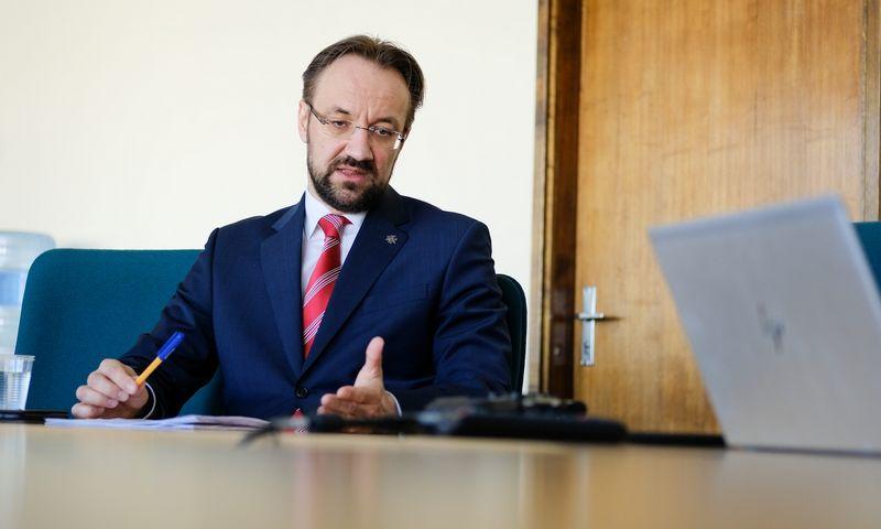 Gediminas Šimkus, Lietuvos banko valdybos pirmininkas.  Vladimiro Ivanovo (VŽ) nuotr.