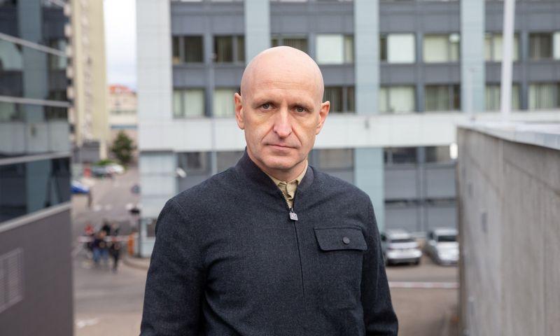 """Lukas Laukaitis, UAB """"Conresta"""" direktorius. Juditos Grigelytės (VŽ) nuotr."""